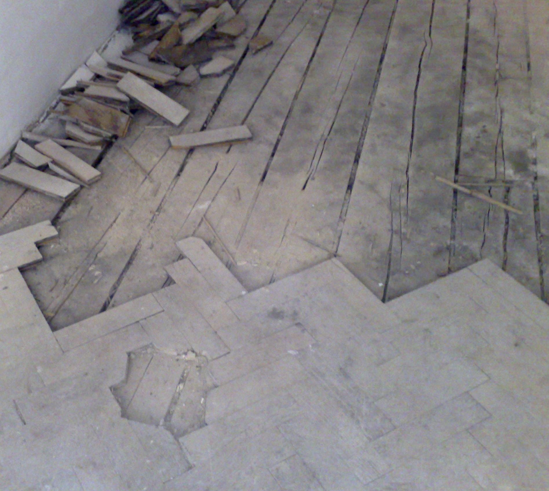 Prověšené stropy a podlahy