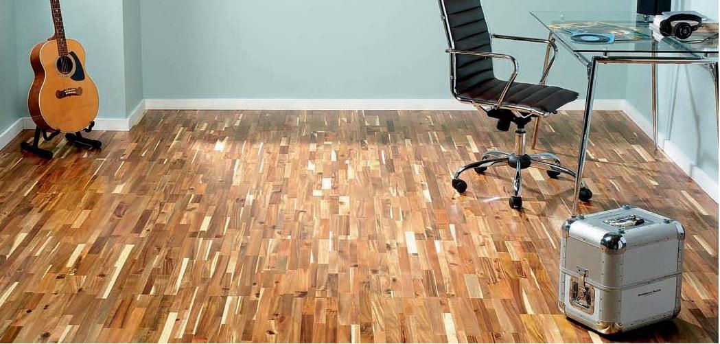 Podlaha z masivu
